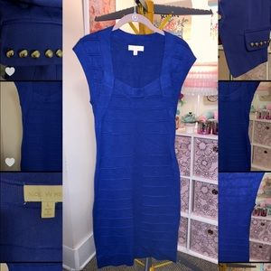 Nicki Minaj Cobalt Blue Juniors Dress Large